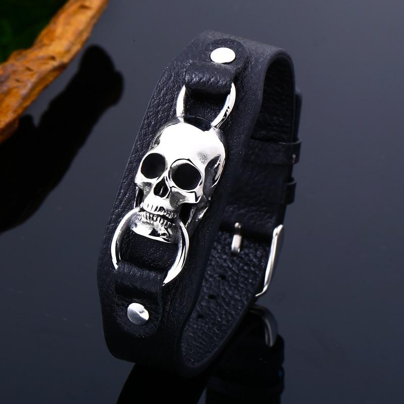 Bracelet  crâne de thor 3