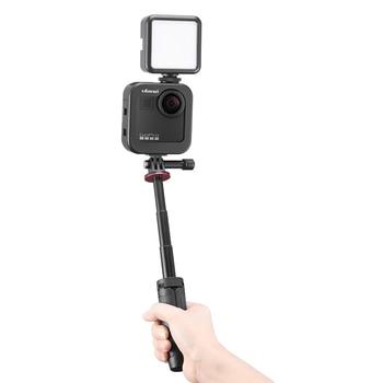 Ulanzi GM-3 Metal Cold Shoe Camera Cage Mount Extension Bracket Vlog Microphone LED Light Extend Stand for GoPro Max Vlog Film