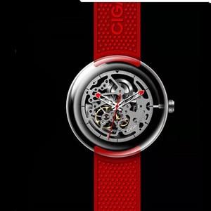 Image 3 - Original CIGA Design T Men /women Automatic Mechanical Watch Full Hollow Stainless Steel Wrist Watch