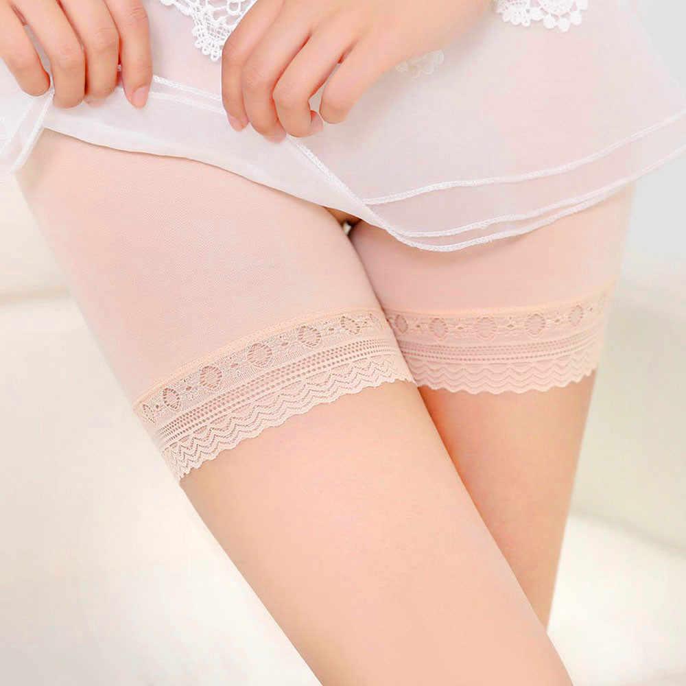 2019 Fashion Wanita Renda Tingkat Rok Rok Pendek Di Bawah Celana Safety Pakaian Celana Pendek Pendek Feminino Boxer Femme Трусы Женские