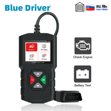 Blue Driver Car OBD2 Scanner Check Engine Code Reader with Battery Test for OBDII Automotive Diagnostic Scanner