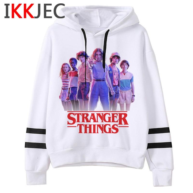 Stranger Things Season 3 Upside Down Harajuku Hoodies Men/women Funny Cartoon Eleven Warm Sweatshirts Fashion Hoody Male/female