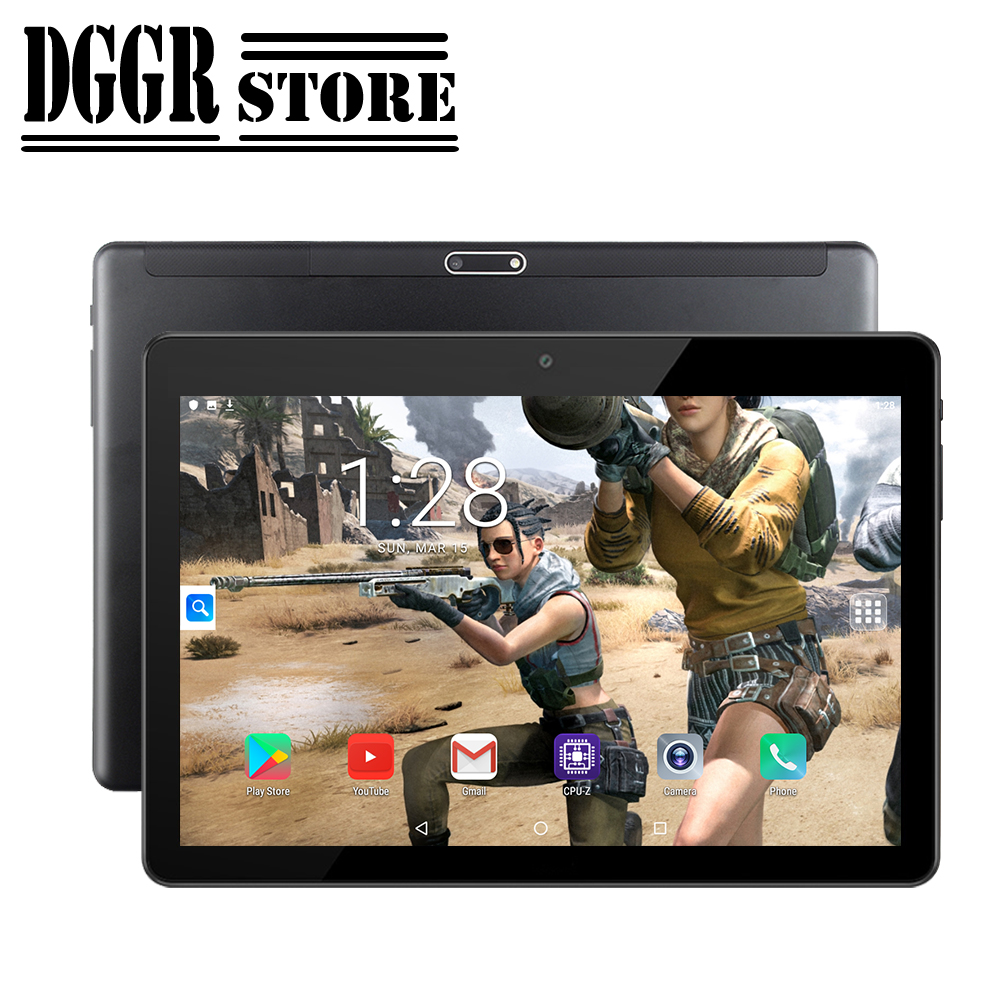 Brand New Original 10-inch Tablet Android 9.0 Google Market 3G Phone Dual SIM Card CE Brand WiFi GPS Bluetooth Cell Phone  Table