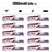 GAONENG GNB 1S 380 мАч 3,8 в 60C/120C LiHV Lipo батарея PH2.0 разъем для UK65 US65 Happymodel Mobula7Snapper BetaFPV 65S Дрон