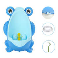 Kids Frog Potty Toilet Urinal Pee Trainer Wall-Mounted Toilet Pee Trainer Penico Pinico Children Baby Bathroom potty training