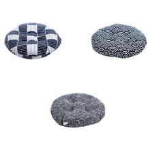 59*59cm Round Shape Pillow Seat Cushion Tatami Home Decoration Car Soft Sofa Mats for Room