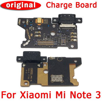 Original USB Charge Board PCB Dork Connector Flex Cable Replacement Spare Parts Charging Port For Xiaomi Mi Note 3