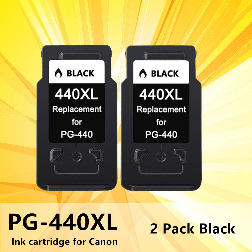 440XL 441XL Ink Inkjet Cartridge Replacement PG440 PG <font><b>440</b></font> 441 <font><b>XL</b></font> for <font><b>Canon</b></font> Pixma MG2180 3180 4180 4280 MX438 518 378 printer image