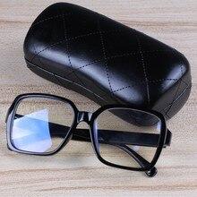 Monturas de gafas de plástico 2020 Vintage, gafas cuadradas negras, gafas transparentes, monturas de gafas graduadas para celebridades