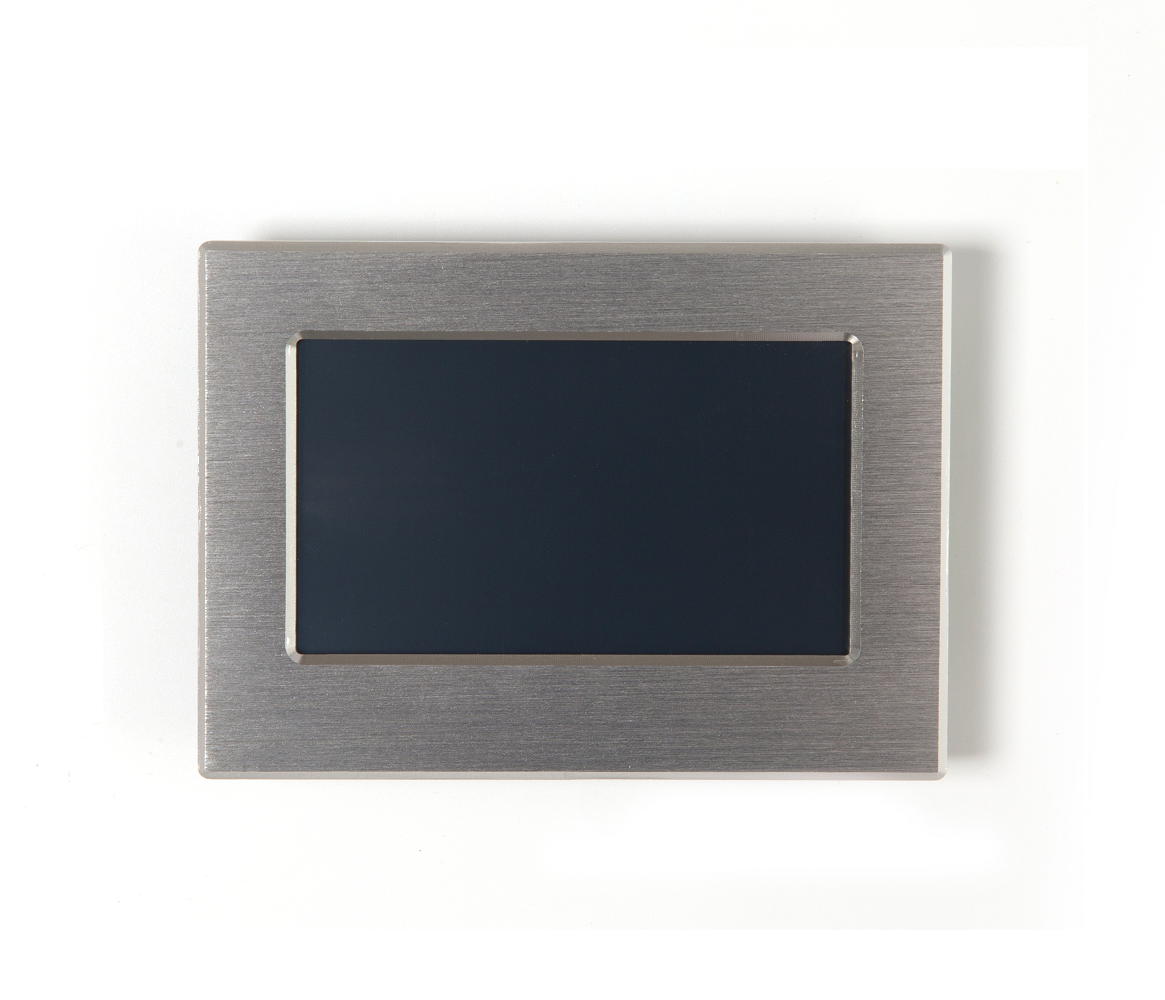 4.3 Inch Color TFT LCD Display Module with Controller Board + Program for Instrument Panel with Metal Frame image