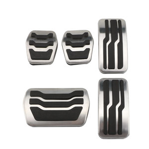 Image 1 - Color My Life Stainless Steel Car Pedal Pads Pedals Cover for Ford Focus 2 3 4 MK2 MK3 MK4 RS ST 2005 2020 Kuga Escape 2009 2020