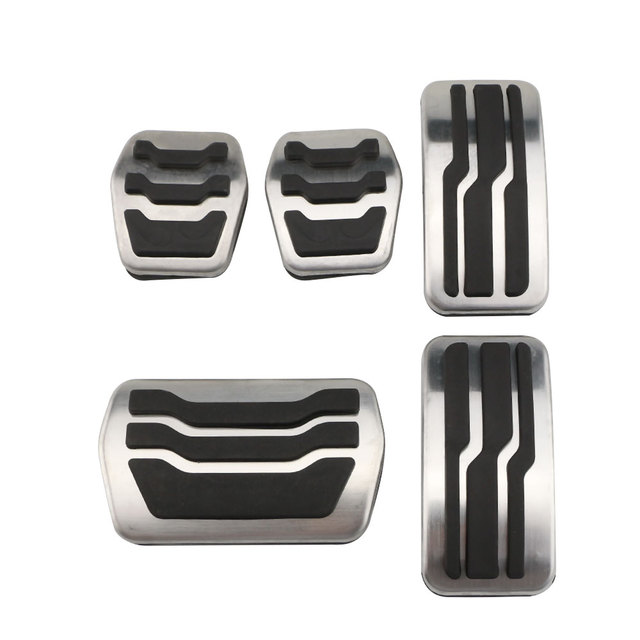 Color My Life Stainless Steel Car Pedal Pads Pedals Cover for Ford Focus 2 3 4 MK2 MK3 MK4 RS ST 2005 2020 Kuga Escape 2009 2020