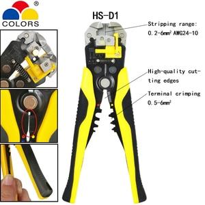Image 3 - YEFYM Repair Tools Multi Wire Stripper Pliers Cutter Clamp 6mm2 Functional Mini Carbon Steel Multifunctional Electrical