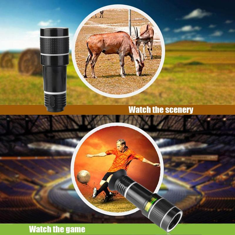 Universal Mobile Phone Camera Lens With Clip for iPhone And DSLR Mobile Phone Lens