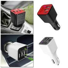 3,1 EINE 3 USB Port Ladegerät Auto Auto Frische Luft Reiniger Sauerstoff-bar Ozon Ionisator Generator für 12-24V Fahrzeuge Handys