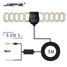 Автомобильная цифровая ТВ антенна активная антенна встроенная 20дБ Автомобильная Радио стерео антенна автомобильный DVB приемник антенна с F/SMA/IEC разъемом