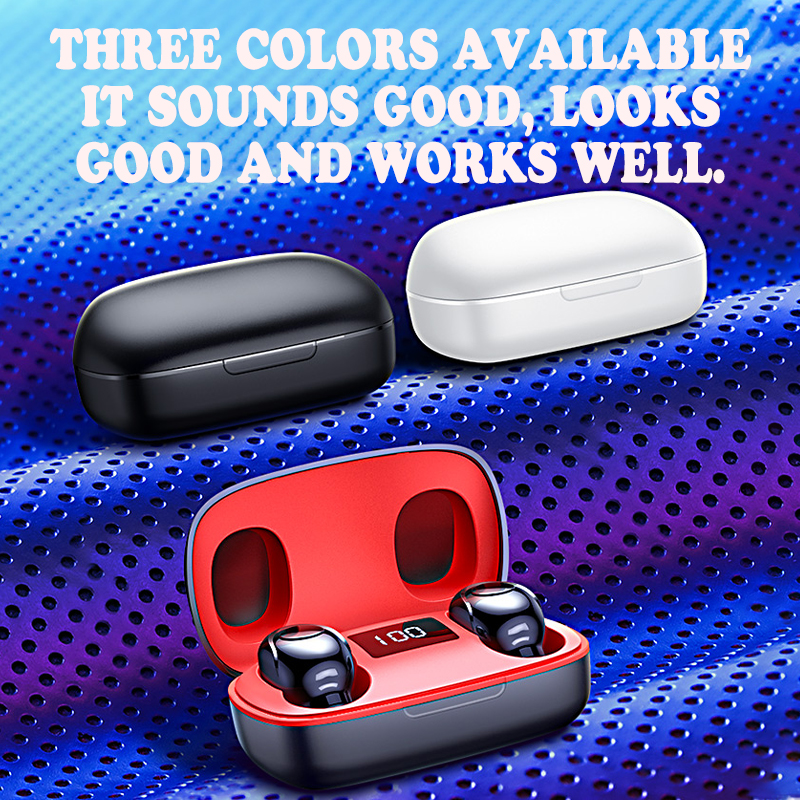 New mini Wireless Headphones Swimming Bluetooth5.0 Earphone TWS In-ear Sports Running Headset Support iOS/Android Phones HD Call 6