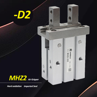 MHZ2 6D2 10D2 16D2 20D2 25D2 32D2 40D2 MHZ2 Air Pneumatic Parallel Finger Pneumatic Gripper Cylinder