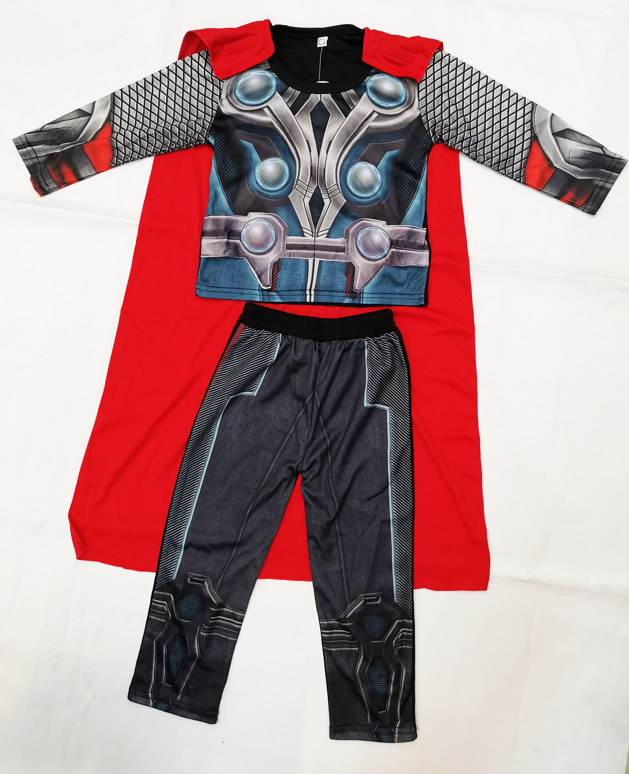 Retail-Halloween Digital Printing Costumes Boy Thor: The Dark World Cosplay Clothing Role-playing Boy The Thor Model Clothing