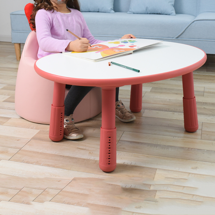 15%2019 Household Lift Table Table Stable And Durable Peanut Table Children's Table Safety Surface Prevents Bumping Kid Table