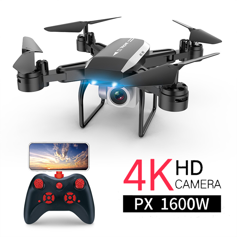 KY606D <font><b>Drone</b></font> <font><b>FPV</b></font> <font><b>RC</b></font> <font><b>Drone</b></font> 4k Camera 1080 HD Aerial Video dron Quadcopter <font><b>RC</b></font> helicopter toys for kids Foldable Off-Point <font><b>drones</b></font> image