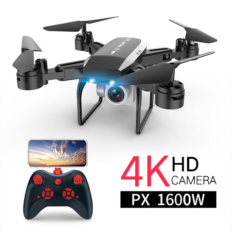 Zangão KY606D 4k Câmera 1080 HD Vídeo Aéreo FPV RC Zangão Quadcopter dron helicóptero RC brinquedos para crianças Dobrável off-Ponto de drones com câmera hd corrida corrida zangão zangão
