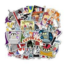 10/50 pçs dos desenhos animados animações voar para fora um futurama adesivos personalizado graffiti bagagem decorativa à prova dwaterproof água crianças adesivo brinquedos