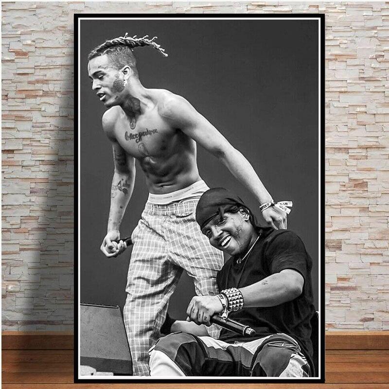 L-07 Hot XXXTentacion New Rapper Hip Hop Music Star Singer Poster Art Decoration