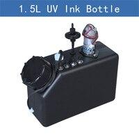 Preservação da impressora de alta qualidade com sensor filtro agitação do motor 1.5l uv tanque tinta para impressora uv