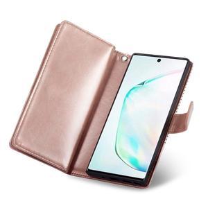 Image 5 - 9 カードホルダー財布三星銀河注 10 プラス注 9 S10 S9 S8 プラス S10E フリップ革取り外し可能な磁気電話ケース