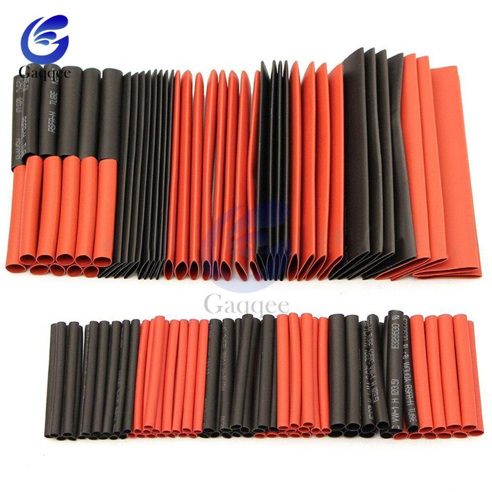5Meter Heat Shrink Tubing Black Glue Weatherproof Sleevings Assortment  Wrap