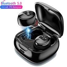 XG12 двойные TWS Беспроводные Bluetooth 5,0 наушники стерео HIFI Звук спортивные наушники гарнитура в ухо игровая гарнитура с микрофоном