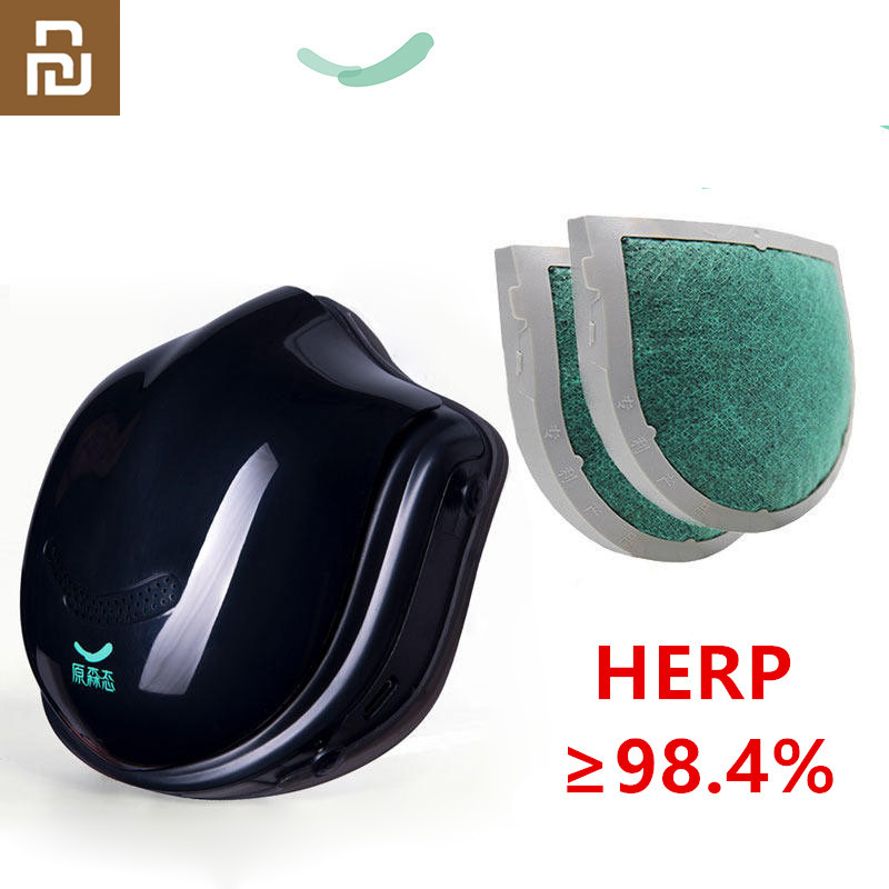 Youpin Q5Pro Mask PM2.5 Air Pollution Face Mask Breath Dustproof 4 Layer Protective Electric Mask From Youpin