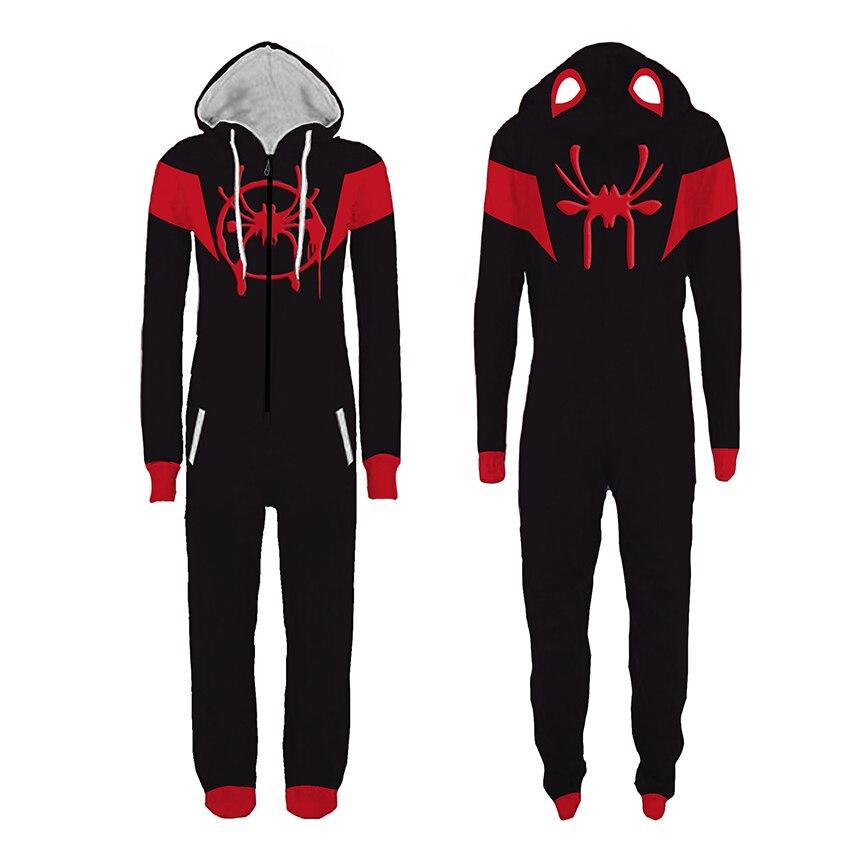 Adult Deadpool Pijama Superhero Costume Man Pajamas Women Jumpsuits Cosplay Halloween Costumes for Women Christmas Party