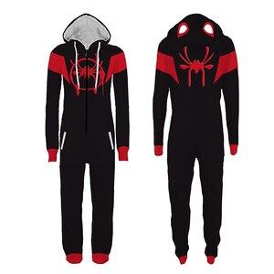 Image 3 - Erwachsene Deadpool Pijama Superhero Kostüm Mann Pyjamas Frauen Overalls Cosplay Halloween Kostüme für Frauen Weihnachten Party Outfit