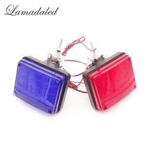 DC12V red blue square 40LED hi