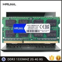 Memory-Ram SDRAM So-Dimm-Module Notebook Laptop 1333MHZ New 8GB HRUIYL 4GB 2GB Pin DDR3