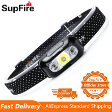 Led-Headlight Fishing-Bicycle Lightweight Usb Rechargeable Waterproof Supfire Camping