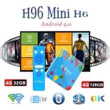 Android Box smart tv H96 mini H6 tv box wireless keyboard 6k H.265 HDMI 2.0 4GB RAM 32/128GB Media Player H96 mini set-top boxes microcentrifuge mini 6k mini centrifuge 6000rpm economic