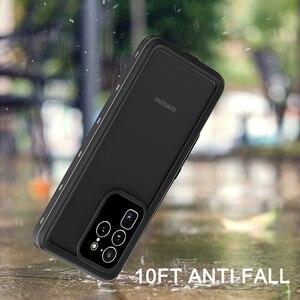 Image 4 - Водонепроницаемый чехол для дайвинга IP68 для Samsung Galaxy S20 S10 Note 10 Plus, чехол для плавания, Пыленепроницаемый Чехол с полным покрытием для Samsung S20 Ultra, чехол