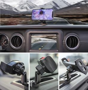 Image 5 - MOPAI العالمي سيارة قوس ل جيب رانجلر JL سيارة باد حامل الهاتف المحمول حامل اكسسوارات السيارات ل جيب رانجلر JL 2018 +