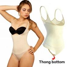 Bodysuit Shapewear Slimming-Underwear Waist-Trainer Modeling-Strap Thong Butt-Lifter