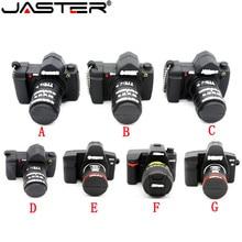 JASTER 64GB Camera shape usb flash drive memory pendrive stick 64gb/32GB/4GB/8GB/16GB USB Flash Pen Drive Thumb Camera gift