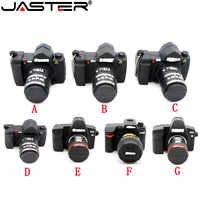 JASTER 64GB Camera shape usb flash drive memory pendrive stick 64gb/32GB/4GB/8GB/16GB USB Flash Pen Drive Thumb Camera gift