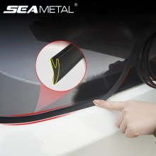 Y-образные автомобильные уплотнительные полосы, герметичные, водонепроницаемые, пылезащитные, звукоизоляционные, герметичная лента, наклейки, защита от внешнего вида автомобиля