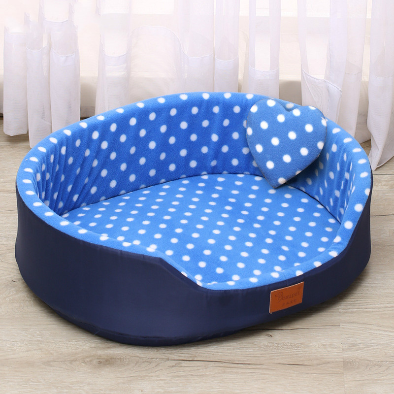 Autumn And Winter Warm Pet Dog Cat Universal Beds Soft Cushion Couch Bed For For Small Medium Dog Plush Cozy Puppy Nest Mat Pad
