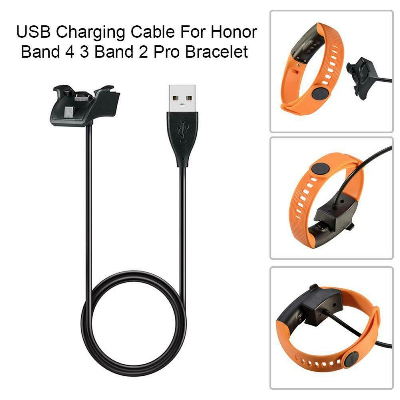 K USB Smartwatch Charger Dock (3ft/1m), <font><b>Charging</b></font> Cradle For Huawei <font><b>Honor</b></font> <font><b>Band</b></font> 2 Pro/<font><b>3</b></font>/4 Standard Edition Accessories image