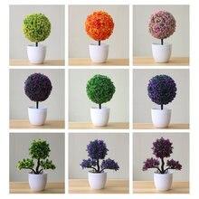 Искусственные растения бонсай маленькие древовидные моделирование