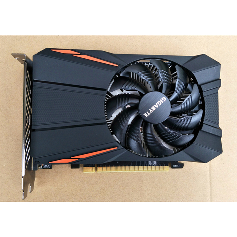 Видеокарта GIGABYTE GTX 1050Ti 4GB GPU 128Bit для видеокарт nVIDIA Geforce GTX 1050 Ti Hdmi VGA Видеокарта GDDR5 б/у-3