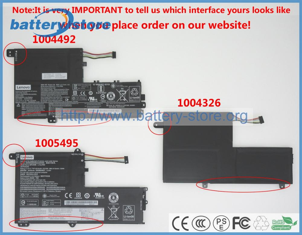Kapal Gratis 11 4 V 52 5w Asli Baterai L15l3pb0 Untuk Lenovo 320s 14ikb Lenovo Ideapad Flex 4 1470 Lenovo Yoga 510 14isk Laptop Batteries Aliexpress